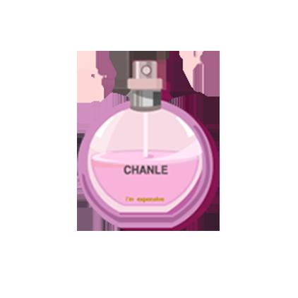 鹿阿^妤儿小可爱陪玩收到礼物香水