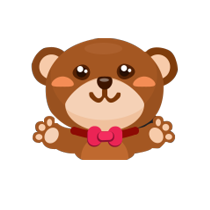 鹿阿^妤儿小可爱陪玩收到礼物大熊
