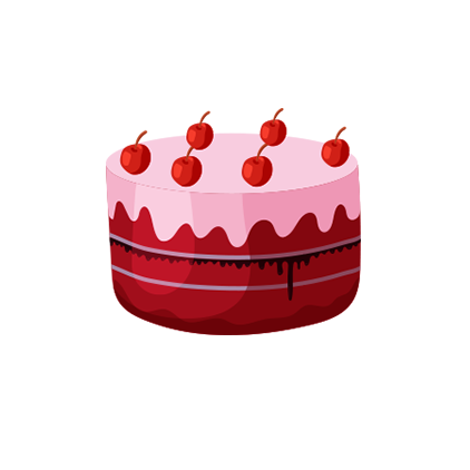 泡泡^陪玩收到礼物蛋糕