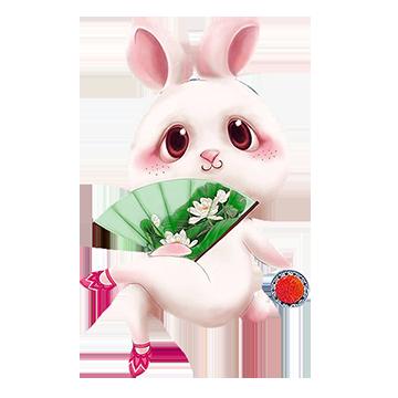 坠入爱河陪玩收到礼物玉兔