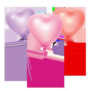烟瘾女♡陪玩收到礼物告白气球