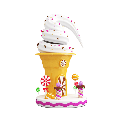 软糖❣️陪玩收到礼物草莓圣代