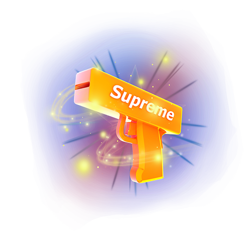 蓝三_陪玩收到礼物Supreme