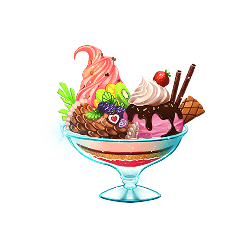 糖小凡陪玩收到礼物冰淇淋