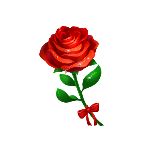 Coco☁依依陪玩收到礼物玫瑰