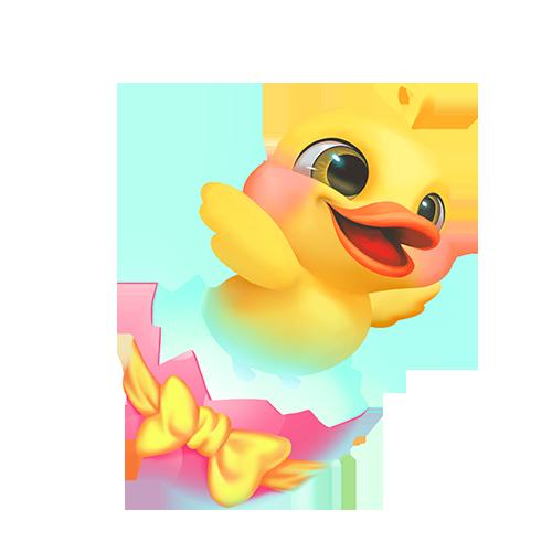 糖小凡陪玩收到礼物小黄鸭
