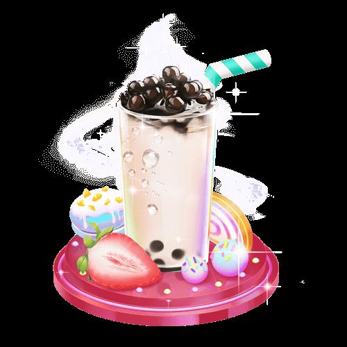 糖小凡陪玩收到礼物珍珠奶茶