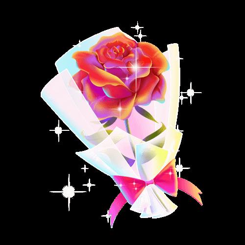 宁静✨致远陪玩收到礼物玫瑰