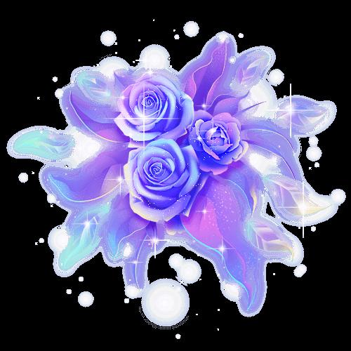 软糖❣️陪玩收到礼物蓝色妖姬