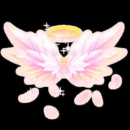 不言语却知心。陪玩收到礼物天使之翼