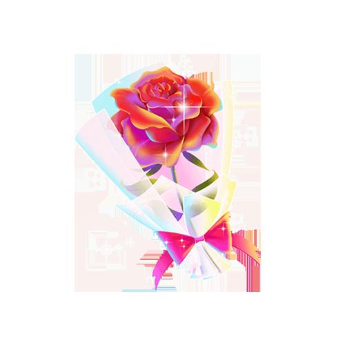基尼尼陪玩收到礼物玫瑰
