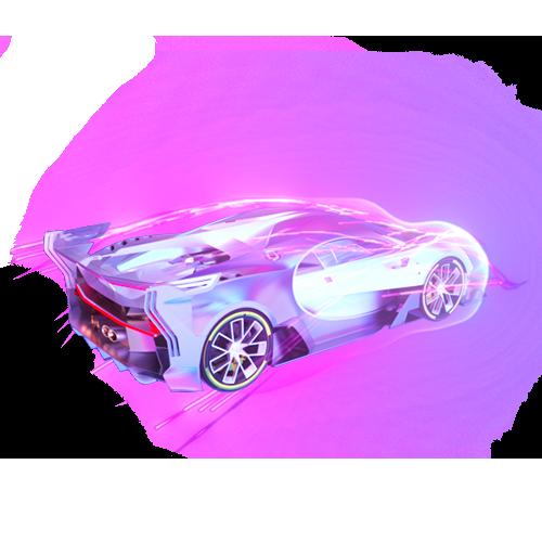 Jy—散财瞳子陪玩收到礼物超级跑车