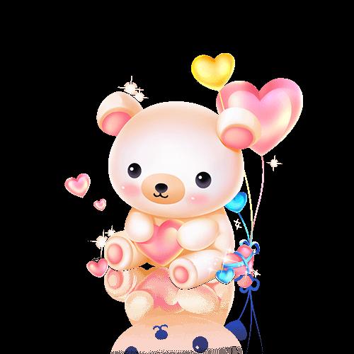 Z❀黛可陪玩收到礼物泰迪熊